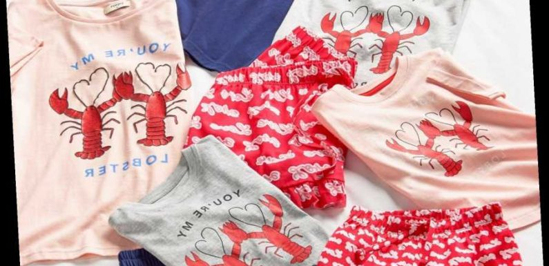 Matalan is selling matching Friends' 'You're my lobster' PJs for the whole family and they start at £5.50