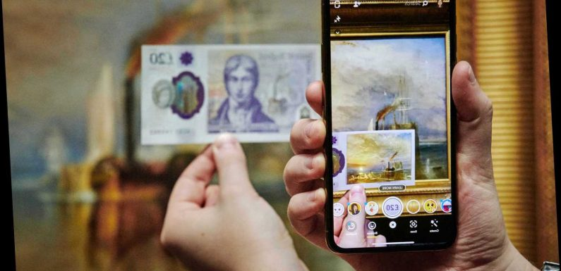 How to reveal hidden painting in new £20 note using Snapchat – The Sun