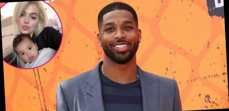 Daddy's Girl! Tristan Thompson Dances With True at Khloe Kardashian's House