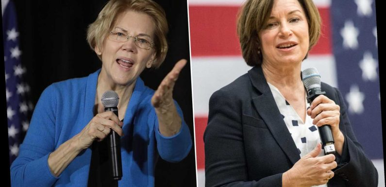Coin toss gives Amy Klobuchar at least one Iowa caucus site over Elizabeth Warren