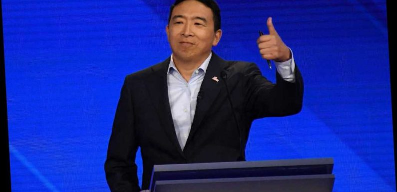 Andrew Yang thinks New York City should adopt a universal basic income
