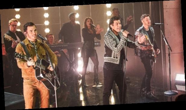 Jonas Brothers Perform Their Hot New Song 'What's a Man Gotta Do' for 'Corden'