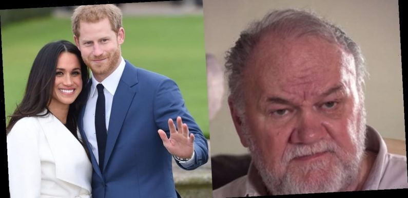 Thomas Markle says the way Prince Harry and Meghan Markle have spoken to the Queen is an 'insult' to 'the British people'
