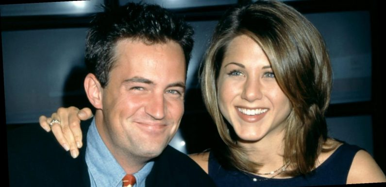 Jennifer Aniston welcomes Matthew Perry to Instagram with this iconic Friends scene