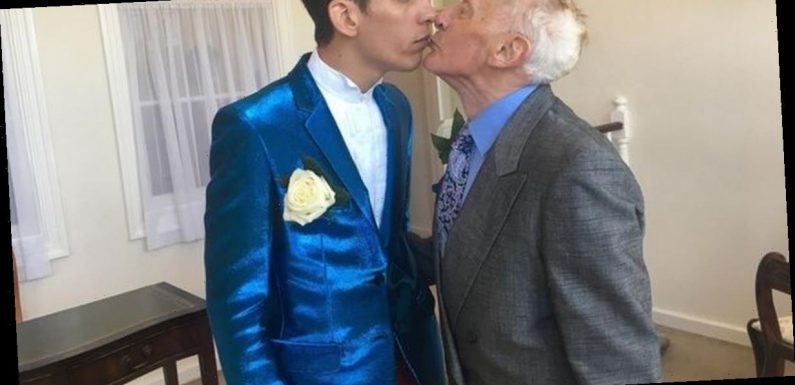 Retired vicar, 81, moves to Romania for toyboy lover, 27, to make marriage work