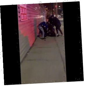 Video Shows NYPD Violently Arresting Young Black Man Suspected Of Smoking Weed