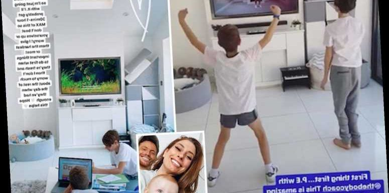 Stacey Solomon shares her homeschooling tips including ditching tables and teaching the trickiest lessons first