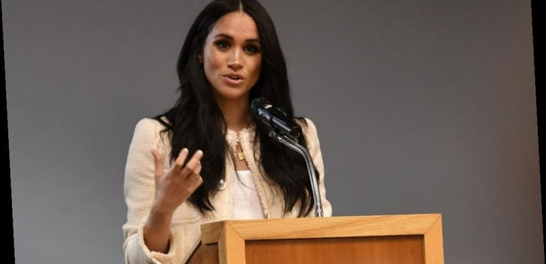 Meghan Markle Delivers Inspiring Speech That Hints at Royal Exit: 'Speak Up For What Is Right'
