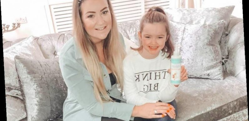 My daughter's eczema saw her hospitalised 10 times and be wrapped in clingfilm – but £4.50 moisturiser cleared it up