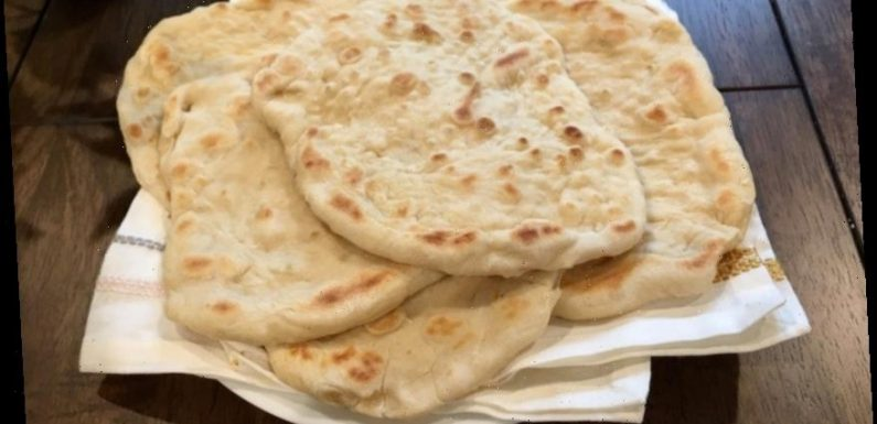 People are making flatbread after coronavirus stockpilers snapped up all the loaves and it only takes three ingredients
