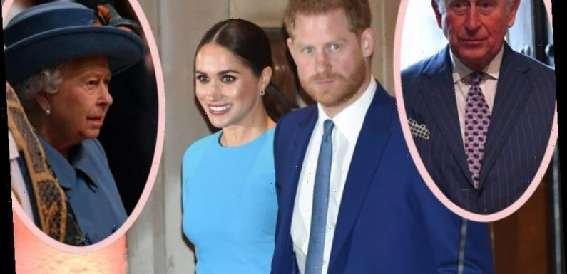 Royals 'Stunned & Horrified' By Meghan & Harry's Move To USA??