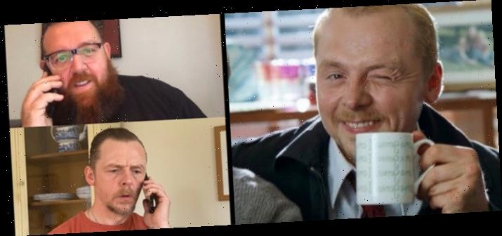 LOL: Simon Pegg and Nick Frost Update the 'Shaun of the Dead' Survival Plan for Coronavirus