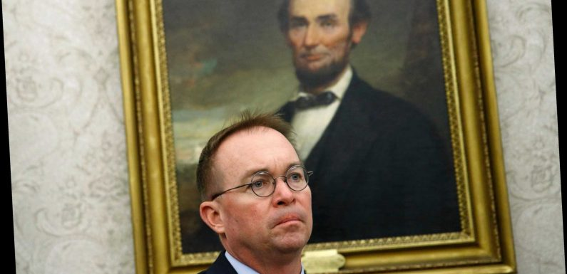 Trump replaces Mick Mulvaney as White House chief of staff