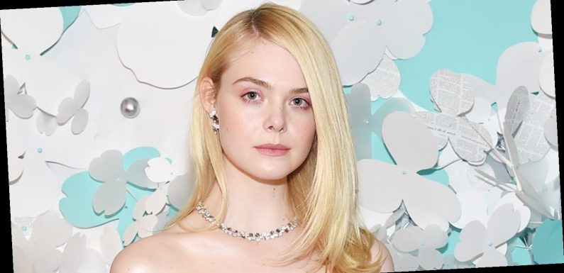 Elle Fanning Debuts Newly Dyed Pink Hair!