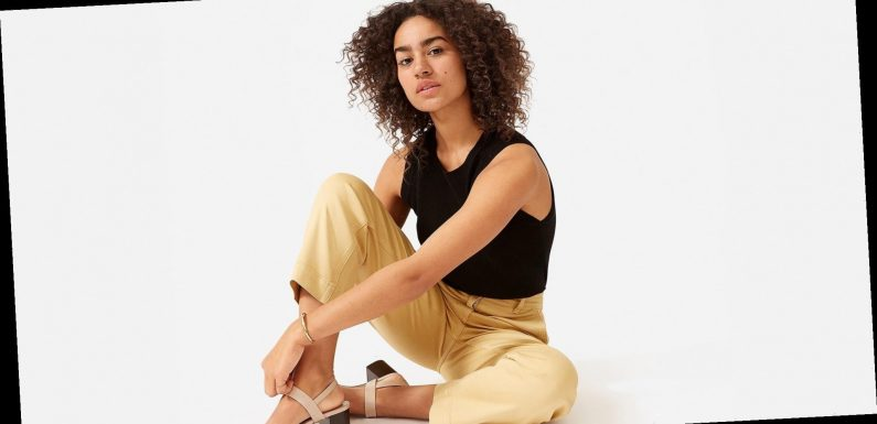 24 Hours Only! Everlane's Most Flattering Straight-Leg Pant Is Just $50
