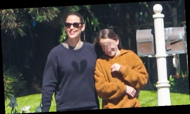 Jennifer Garner Is All Smiles With Daughter Seraphina, 11, As Ben Affleck Isolates With New GF