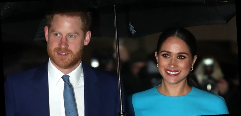 Prince Harry & Meghan Markle Make First Appearance in Months Ahead of Official Royal Exit