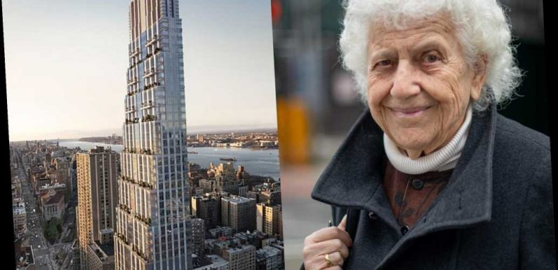 Meet the 90-year-old widow who brought down a Manhattan building