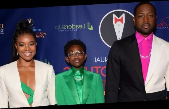 Dwyane Wade's 12-year-old daughter Zaya made her first red carpet appearance since coming out as transgender, and he said he 'couldn't have been prouder'
