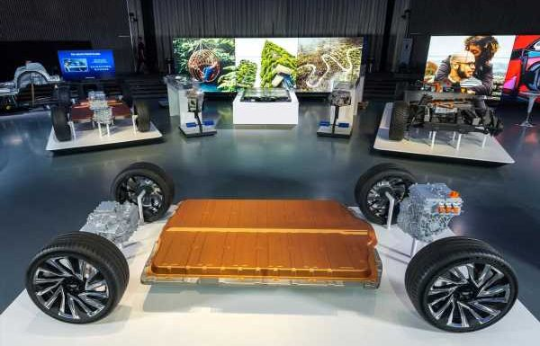 GM takes aim at Tesla with 'Ultium' batteries and fleet of electric vehicles