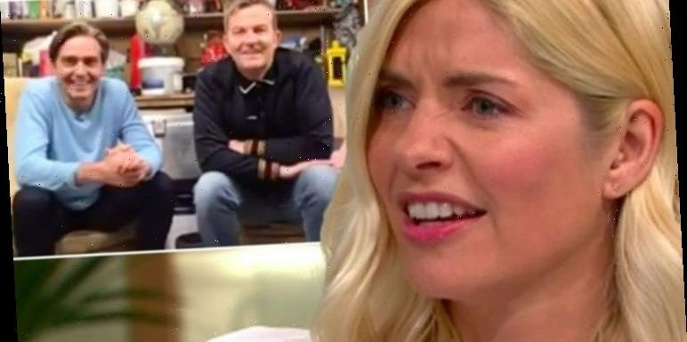 Holly Willoughby horrified as on air argument exposed as Bradley Walsh prank 'I hate you!'