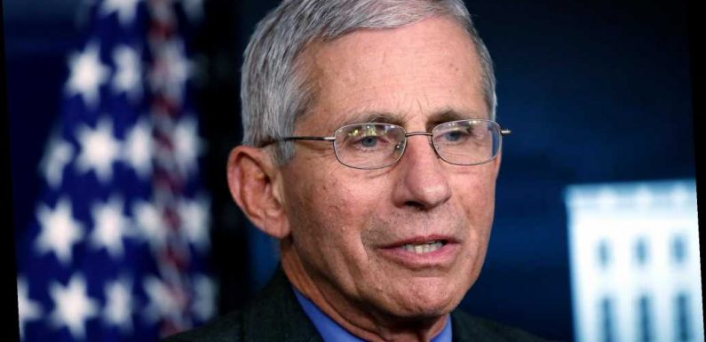 Anthony Fauci doesn't 'feel confident at all' about China's coronavirus data