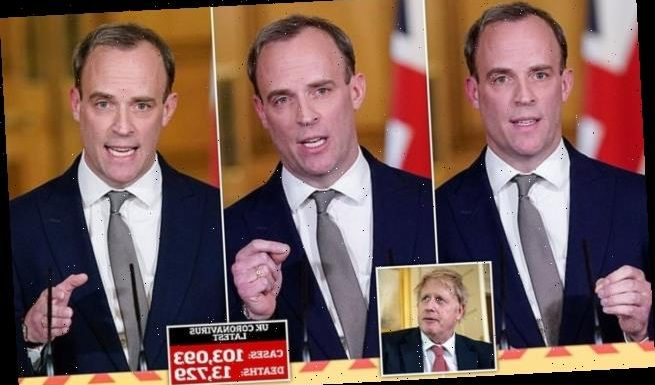 HENRY DEEDES: All we got from Dominic Raab was fun-free gloom