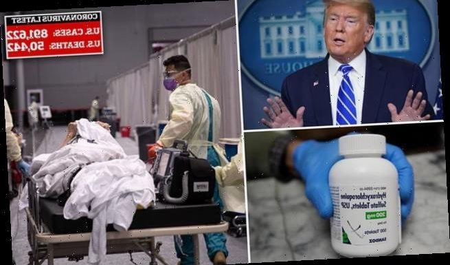 Trump aides launched effort to push unproven hydroxychloroquine