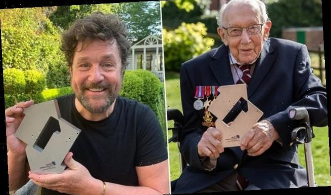 Captain Tom Moore breaks the record for oldest person to have a No.1