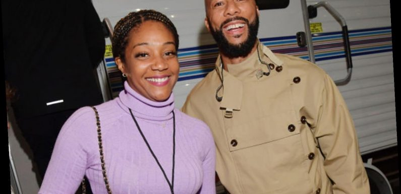 Tiffany Haddish jokes she could get pregnant while quarantined with 'boyfriend' Common