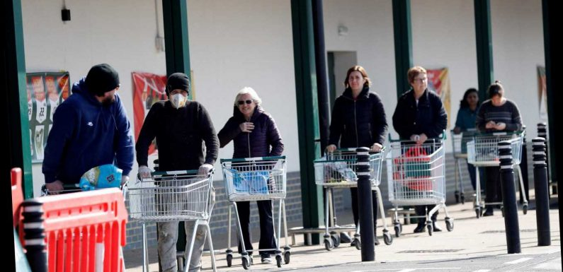 Big supermarkets must close on Easter Sunday by law meaning shoppers will face even longer queues this Saturday – The Sun