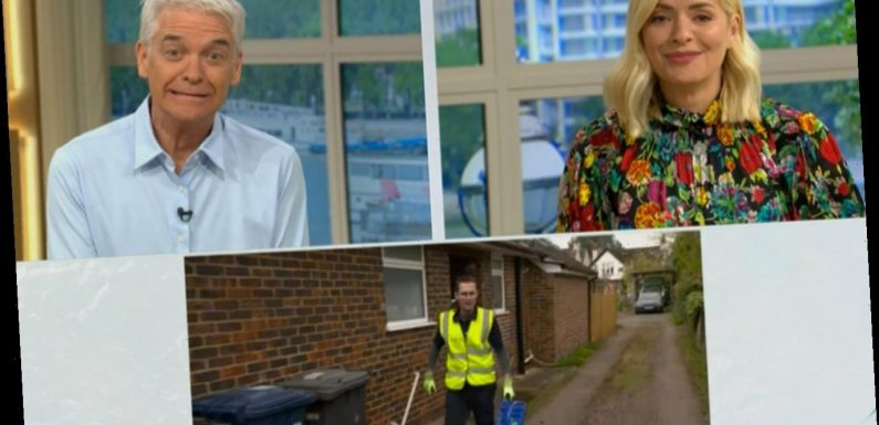 Holly Willoughby in giggles as man in his pyjamas complains to his milkman live on This Morning in middle of interview – The Sun