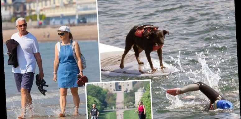 UK weather forecast – Britain to be hotter than IBIZA with 24C scorcher tomorrow before temperature drops this weekend – The Sun