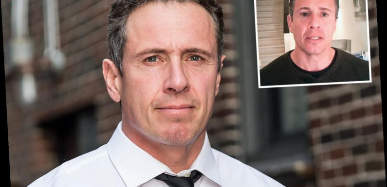 Coronavirus-stricken CNN star Chris Cuomo slams his OWN SHOW as 'not worth his time' and calls Trump 'full of s**t' – The Sun