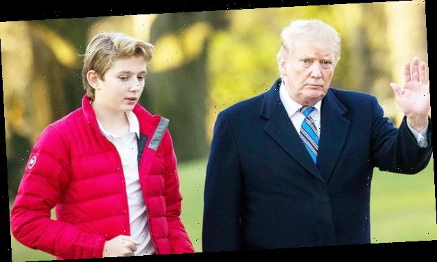 Donald Trump Reveals Barron, 14, Is 'Not As Happy' As He Could Be During Isolation