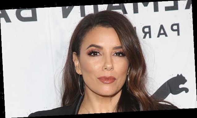 Eva Longoria, 45, Shows Off Her Toned Abs 21 Months After Giving Birth To Son — Video