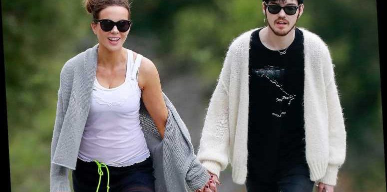 Kate Beckinsale Holds Hands with Canadian Musician Goody Grace in Active Outing