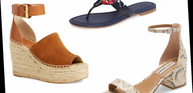 Nordstrom's Top-Rated Sandals Are on Sale