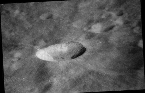 NASA wants to turn a moon crater into a giant telescope