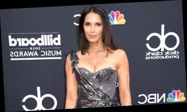 Padma Lakshmi, 49, Puts Her Abs On Display While Channeling 'Miami Vice' In Quarantine