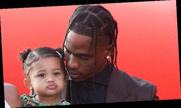 Stormi Webster, 2, Is So Excited For A Pool Play Date With Dad Travis Scott — Watch