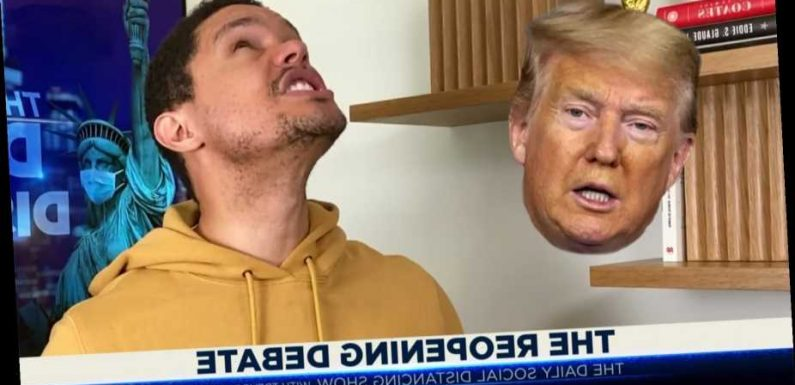 Trevor Noah: Trump Wants 'Victory Parade' for Re-Opening U.S. After Bailing on Coronavirus Battle