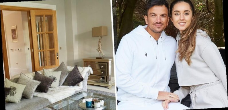 Peter Andre and wife Emily give us a tour of their lavish Surrey home complete with cinema room and hot tub
