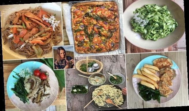 Mother claims she can cook meals entirely from plants found near house