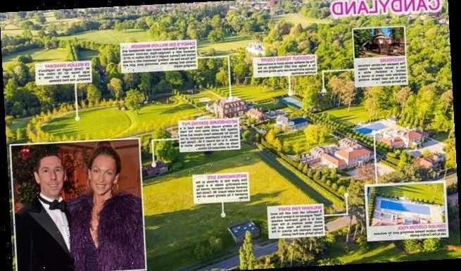 Billionaire tycoon Christian Candy completes his £150million estate