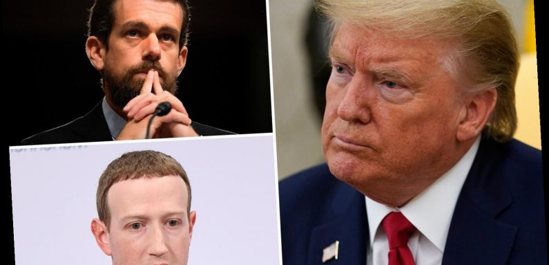 Trump's 'leaked executive order' targets Facebook and Twitter for 'censoring' and calls on FCC to change laws – The Sun