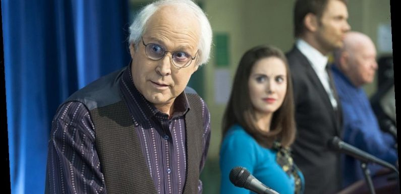 'Community' Star Chevy Chase Admits He 'Wasn't so Different' From Pierce Hawthorne