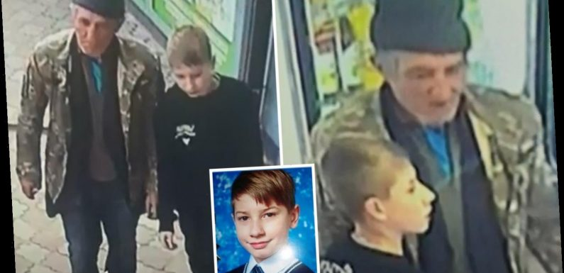 Chilling pics show paedo with boy, 12, moments before he lured him to abandoned building then raped and murdered him – The Sun
