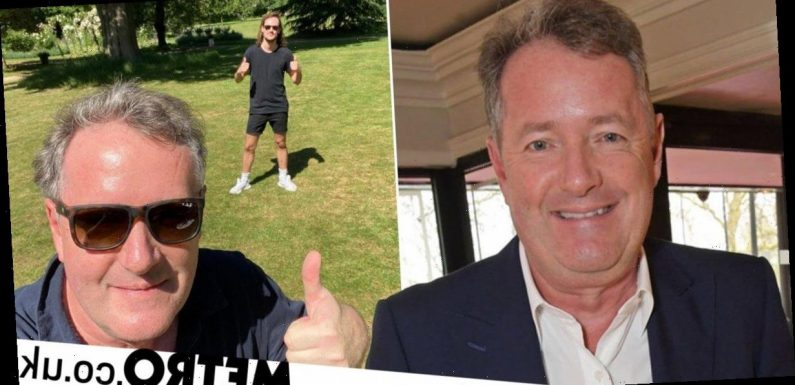 Piers Morgan reunites with son Spencer after three months apart