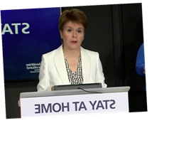 Coronavirus tests for anyone in Scotland over 5 if they have symptoms, Nicola Sturgeon announces